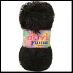 Olivin Yumoş Kedi İpi Siyah