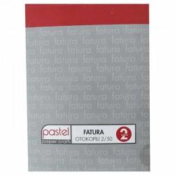 Pastel Fatura Otokopili 2/50