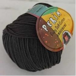 Peria Baby Cotton Amigurumi Örgü İpi 8 Siyah