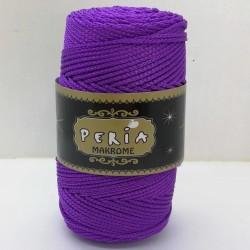 Peria Polyester Makrome İpi Mor ( 100 gr )