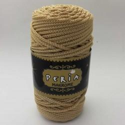Peria Polyester Makrome İpi Açık Bej ( 100 gr )