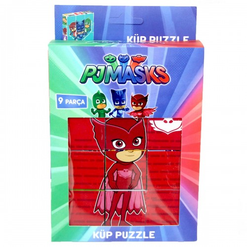 PJ Maskeliler Küp Puzzle 9 Parça