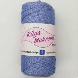 Polyester Makrome İpi Açık Mavi ( 100 gr )