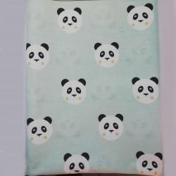 Poplin Kumaş Panda