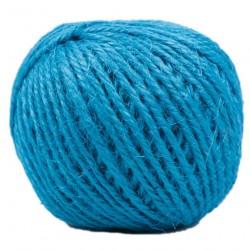 Renkli Jüt İp Mavi ( Hasır İp -Kendir İp - Kırnap İpi )