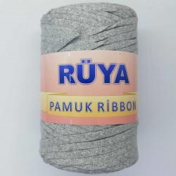 Rüya Pamuk Ribbon İp Açık Gri ( 250 Gr )