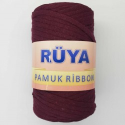 Rüya Pamuk Ribbon İp Bordo ( 250 Gr )