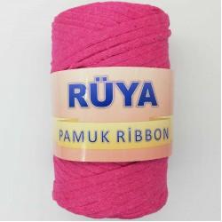 Rüya Pamuk Ribbon İp Fuşya ( 250 Gr )