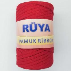 Rüya Pamuk Ribbon İp Kırmızı ( 250 Gr )