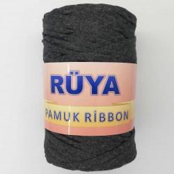 Rüya Pamuk Ribbon İp Koyu Gri ( 250 Gr )