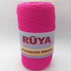 Rüya Polyester Ribbon İp Fuşya ( 200 Gr )