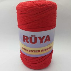 Rüya Polyester Ribbon İp Kırmızı ( 200 Gr )