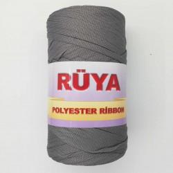 Rüya Polyester Ribbon İp Koyu Gri ( 200 Gr )