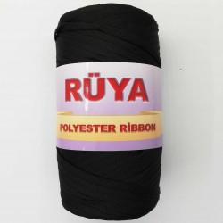 Rüya Polyestser Ribbon İp Siyah ( 200 Gr )