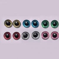 Simli Amigurumi Kilitli Göz 14 mm ( 1 Çift )