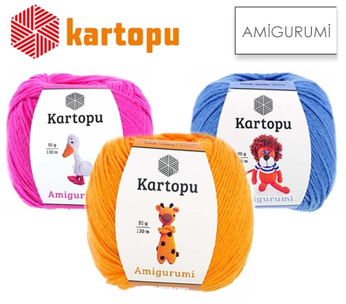 Kartopu Amigurumi Mavi El Örgü İpi - K1620 - Hobium   606x690